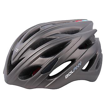 Outdoor mountain bike riding helmet, bicycle helmet with tail light