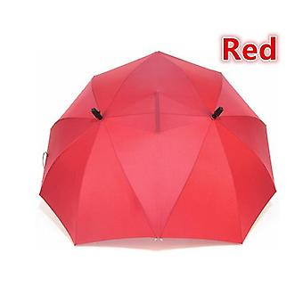 Double top Lovers Double umbrella(Red)