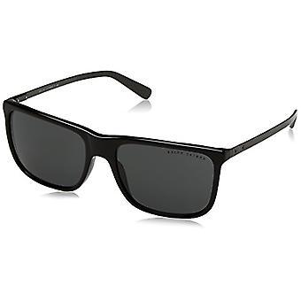 Ralph Lauren 0RL81570187 Sunglasses, Black/Darkgray, 58 Men's