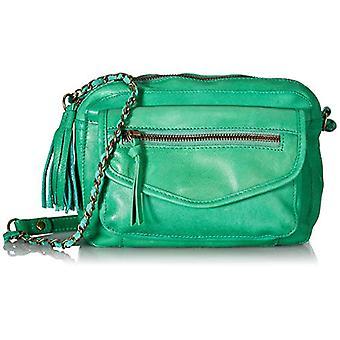 PIECES PCDENICE Leather Cross Body FC, Women's Folder Bag, Green Pepper, One Size