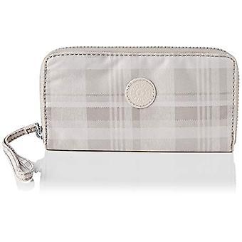 Kipling - Imali Women's Wallet, 1 x 19 x 10 cm, Pink (Soft plaid.), 1x19x10 cm (LxWxH)