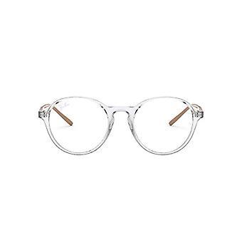راي بان RX7173 نظارات القراءة، شفافة، 49 للجنسين الكبار(2)