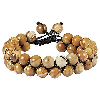 KYEYGWO Bracelet for men and women, 8 mm of Chakra energy with adjustable crystal beads, for yoga pairs, Ref bracelet. 0715444107498