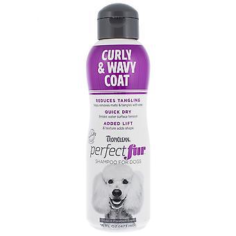 Tropiclean Perfect Fur Curly & Wavy Coat Shampoo for Pets 473ml