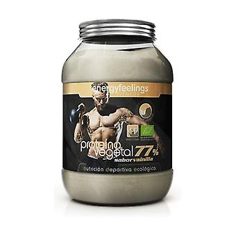 Organic Vegetable Protein 77% Vanilla 1,5 kg
