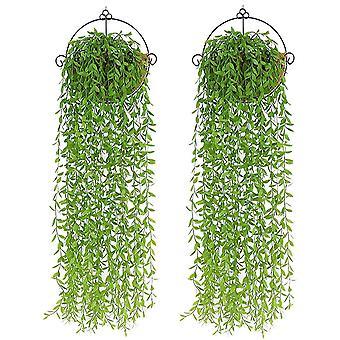 2Pcs artificial hanging vines plantsartificial plantfake plants dt6155