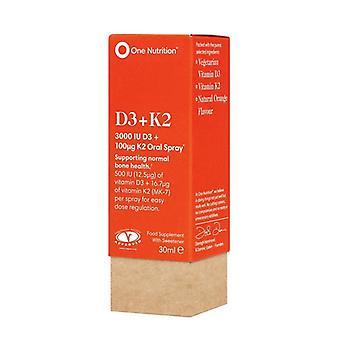 One Nutrition Vitamin D3 + K2 Spray 30ml (ONE048)