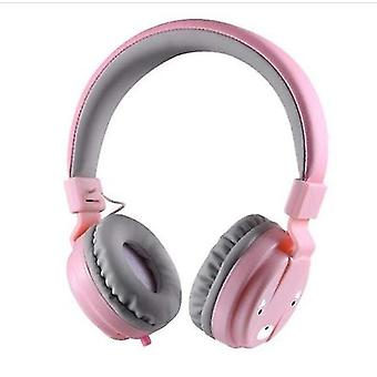 Kinderen beschermende oorkappen met ruis blokkeren (roze)