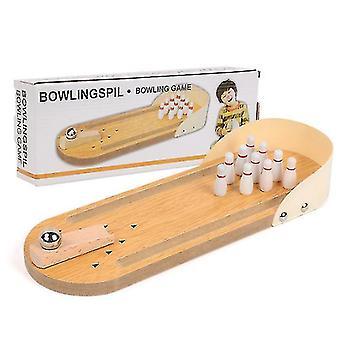 Children's Educational Wooden Toys Amazon Mini Bowling Children Parent Child Interactive Board Game