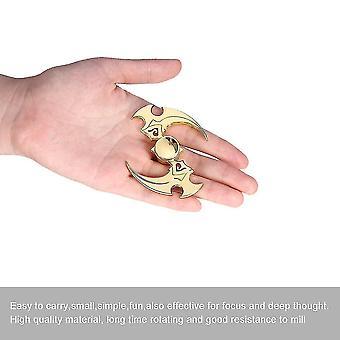 Aleación mano spinner toy metal finger spinner para el autismo Tdah niños adultos regalo