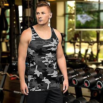 חולצת הסוואה אפורה לגברים