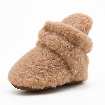 الشتاء الأحذية زغب أحذية طفل لينة، المضادة للانزلاق أحذية سرير الرضع
