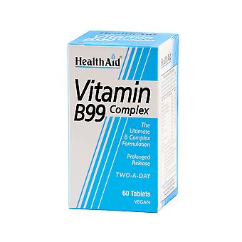 Health Aid Vit B99 Complex - Prolonged Release, 60 Tablets