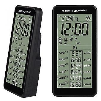 Alarm clocks azan clock muslim mosque iqamah prayer fajr time table clocks with adhan alarm and qibla direction