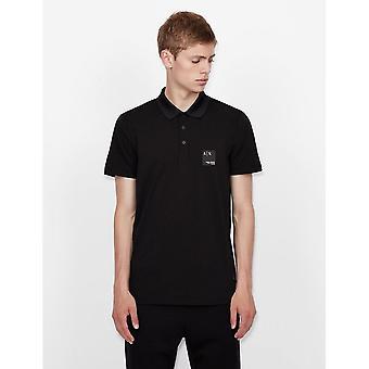 Armani Exchange Armani Exchange Mens Polo Shirt 6KZFFM ZJEAZ