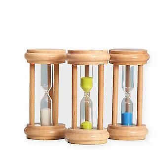 6pcs Children's 1 / 2 / 3 / 5 / 10 / 20 Minute Timer Time Hourglass Home Crafts Decoration Birthday Gift