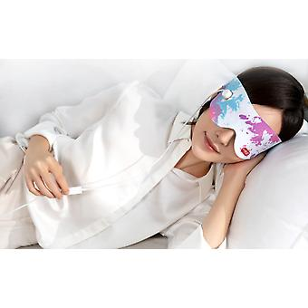 Elektryczne urządzenie do ochrony oczu grzewcze, maska na oczy z gorącym kompresem, urządzenie do masażu oczu, cieniowanie snu, łagodzenie zmęczenia oczu