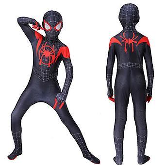 Spider Man do superhrdinského kostýmu Děti Miles Morales Cosplay Dospělý