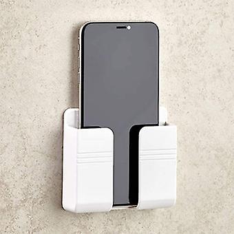 Suporte de telefone montado na parede suporte de carregamento suporte preguiçoso fixo parede suporte de telefone