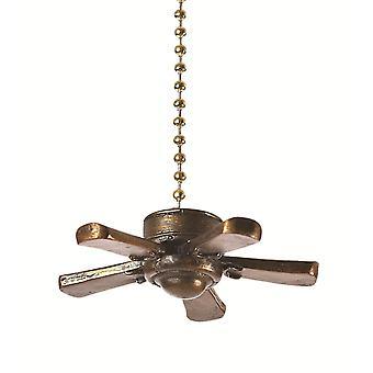Tre dimensionale soffitto ventilatore ventilatore decorativo luce tirare