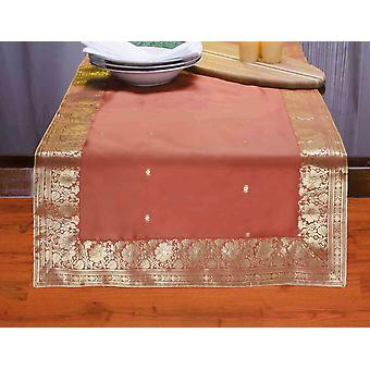 Ruggine - Hand Crafted Table Runner (India)