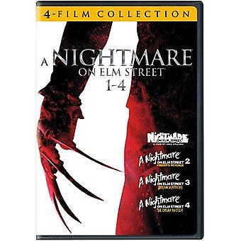 Nightmare on Elm Street 1-4 [DVD] USA import