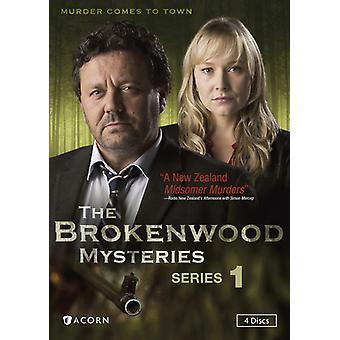 Brokenwood mysteereistä: Sarja 1 [DVD] Yhdysvallat tuoda