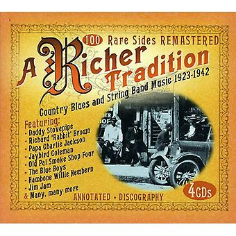 Richer Tradition-Country Blues & String Band Music - Richer Tradition-Country Blues & String Band Music [CD] USA import