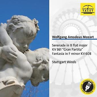 W.a. Mozart - Mozart: Serenade in B Flat Major; Gran Partita; Fantasia in F Minor [CD] USA import