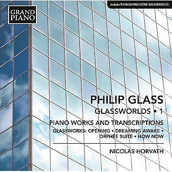 Glass / Horvath, Nicolas - Piano Works 1 - Opening From Glassworks / Dreaming [CD] USA import