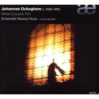 J. Ockeghem - Ockeghem: Missa Cuiusvis Toni [CD] USA tuonti