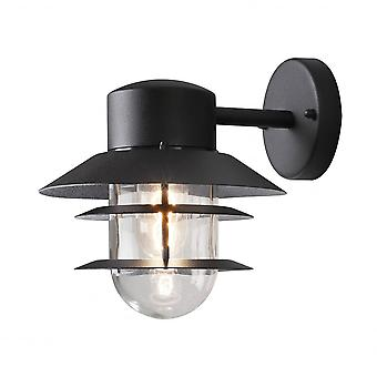 Konstsmide Modena Wall Light Black