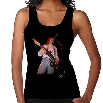 Kurt Cobain éneklő élő gitár nők ' s Vest