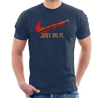 どうしてもそれをルシル歩いて死んでいる男性の t シャツ