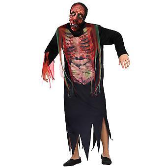 Mænd kostumer mænd Zombie halloween kostume