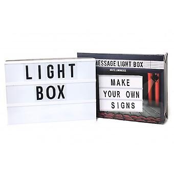 22X30CM LIGHT MESSAGE BOX FUN  MESSAGE DECORATION GIFT LIGHT UP