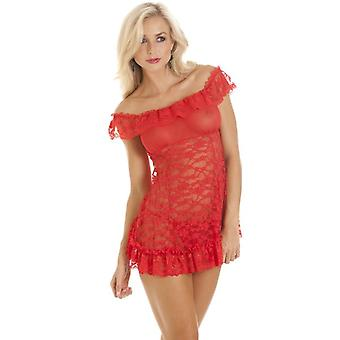 Camille Sexy Dress Style Babydoll Lace Womens G String Thong