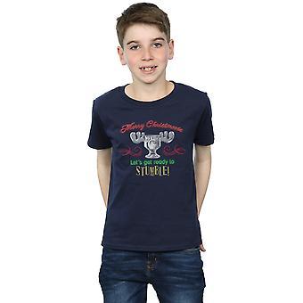 National Lampoon's Christmas Vacation Boys Moose Head T-Shirt