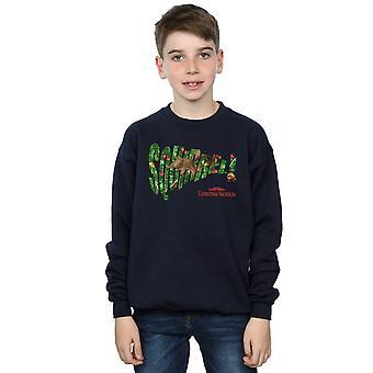 National Lampoon's Christmas Vacation Boys Squirrel Tree Sweatshirt