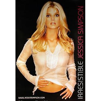 Jessica Simpson Irresistable Poster