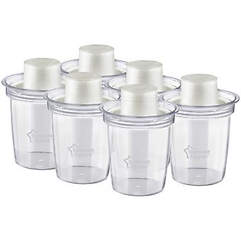 Tommee Tippee Closer To Nature Milk Powder Dispensers x 6