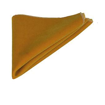 Luxury ciemne złoto Velvet placu kieszeni