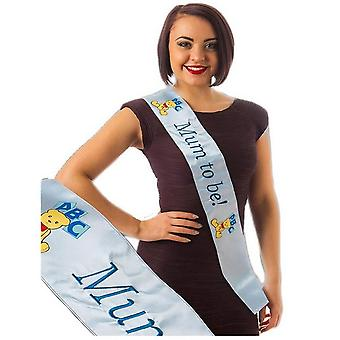 Alandra Blue Mum To Be Sash