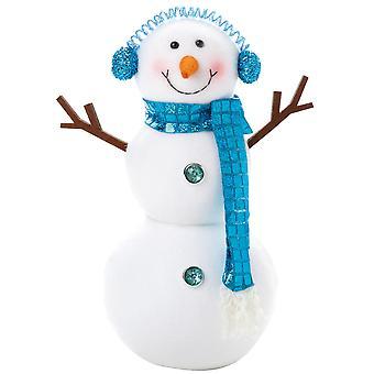 Christmas Shop Peppermint Standing Snowman