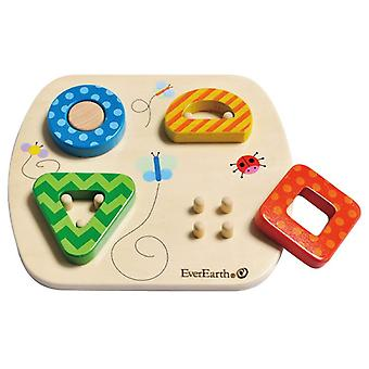 Wooden Sorting Puzzle by EverEarth
