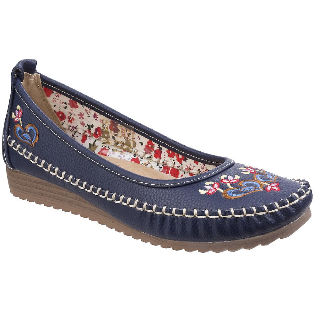 Fleet & Foster Womens/Ladies Algarve Moccasin Casual Slip On Shoes gxvBq