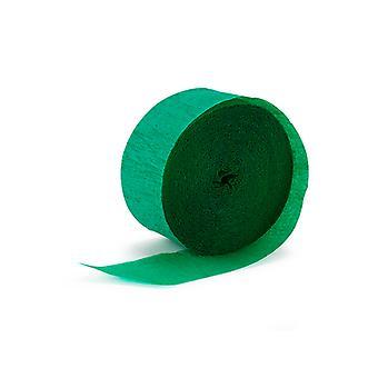 Креп Streamer - зеленый