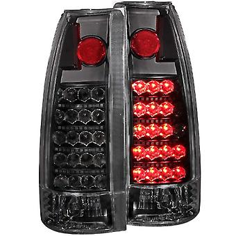 Anzo USA 311059 Cadillac/Chevrolet/GMC Schwarz LED Tail Light Assembly - (paarweise)