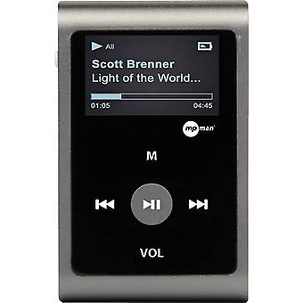mpman MP30WOM MP3 player 0 GB Grey Clip