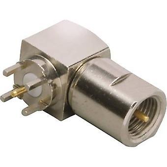 BKL elektroninen 0412063 FME liitin pistoke, vaakasuuntainen kiinnike 50 Ω 1 kpl